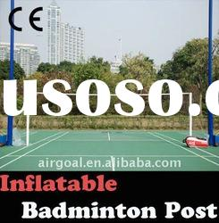 Badminton Net for Competition--Inflatable 6.1m badminton net post