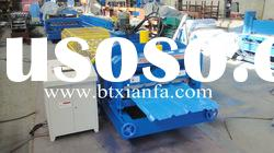 Blue Metal Roof Roll Forming Machine