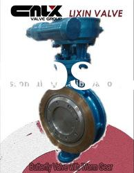 Butterfly Valve with Worm Gear