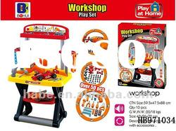 DIY workshop tool play set play set, children play house plastic tool table toys