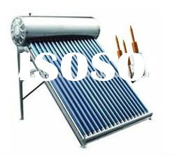 Direct-plug pressurized heat pipe solar water heater