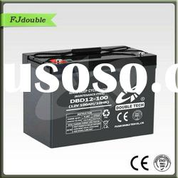 Double Tech AGM Deep Cycle Battery For Solar System 12V 90AH
