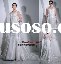 EB6006 Beautiful embroidery classical wedding dress wedding gown