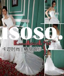 EB603 Multiply superfine organza design wedding dress exquisite wedding gown design my bridal dress