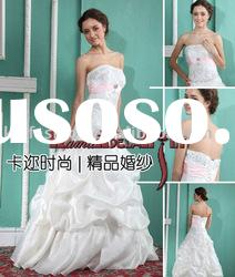 EB680 2011 gorgeous embroidery fluffy princess style wedding dress wedding gown wedding dresses
