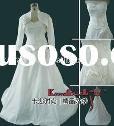 EB806Fitness organza lace Classic Wedding dress wedding gown evening dress
