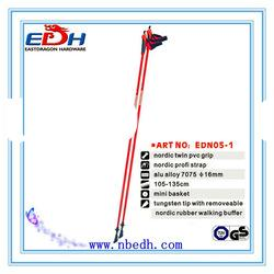 EDS05-1 One section nordic fiberglass walking stick in Sports & Entertainment