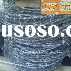 Electric galvanized or hot-dipped galvanized barbed wire