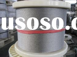 Factory's Direct Selling 316 Stainless Steel Wire Rope 7*7 8.0mm