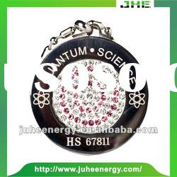 Fashion Design quantum stainless steel energy pendant JHE0009