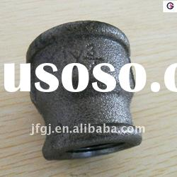 Galvanized or Black cast iron malleable pipe fitting