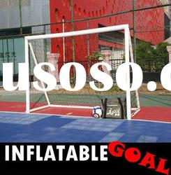 HOT SALE custom basketball jersey design(6*4 Inflatable portable soccer goal)