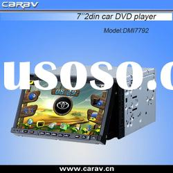 HOT good quality 2 din 7 inch car dvd player