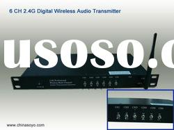 Hi-Fi Digital audio Wireless transmission system