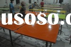 High grade composite acrylic solid surface table tops