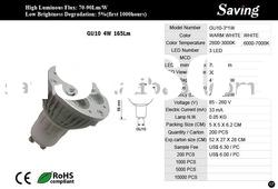 High power led light (GU10-3*1W