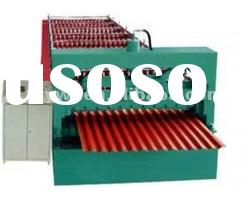 High quality automatic roofing sheets cold roll forming machine for steel