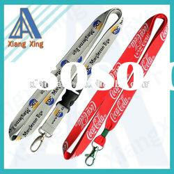 Hot custom woven lanyards no minimum order