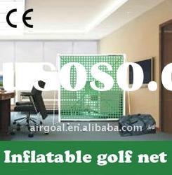 Indoor Goft Practice Net--Inflatable Golf Practice net
