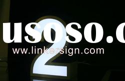 Low Energy Metal LED Sign With Stainless Frame and Acrylic Face
