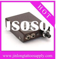 Mini-size LED output switch Tattoo power supply with foot switch clip cord