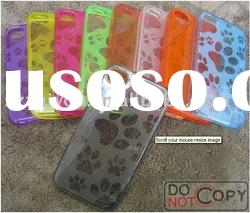 New design phone cover case ,cheap cell phone TPU case for iPhone4/4GS