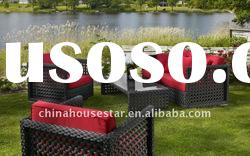 New style outdoor rattan sofa set, Rattan garden set