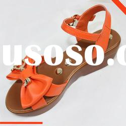New style summer sheepskin shoes, sandals for women 2012