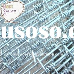 PVC coated Barbed Wire mesh