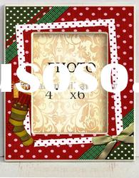 Photo frame with printing in Christmas design