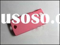Pink Plastic Case For Sony Ericsson Xperia Ray ST 18i , Cell Phone Case