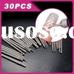 Professional Nail Drill Bits with Sanding bands