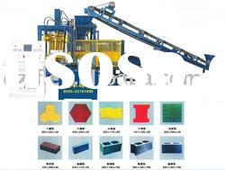 QT4-15 Automatic Fly Ash Brick Machine Concrete Block Machine