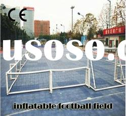 R-01 school football field artificial grass( 001-Inflatable Football Field)