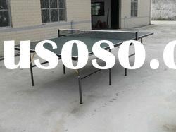SJ-501BSingle Folding indoor table tennis table,portable Ping-Pong Table