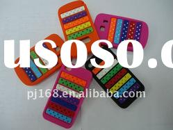 Silicon Mobile Cell Phone Case/Cover With Colorful Diamond For Blackberry 9900