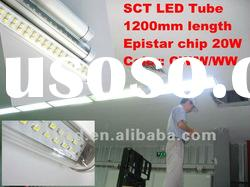 T8 LED Tube HB LED Chip Epistar Aluminium Base Transparent Cover Cheap Price CE Tube