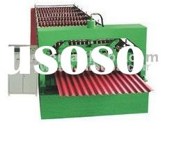 TY13-65-850 Automatic color steel roof sheet roll forming machine