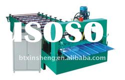 Wall roof colored steel panel roll forming machine