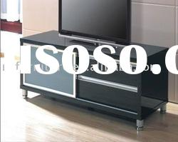 #ALC-120 modern TV stand in white high gloss finish