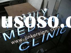 advertising LED channel letters