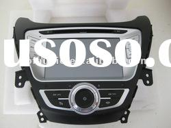 car DVD GPS for Hyundai 2011 Elantra with 6 disc memory and canbus