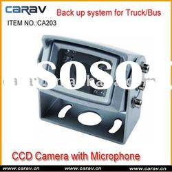 car camera/rear view camera with microphone/ IR night vision