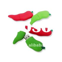chilli USB flash drive with customized LOGO