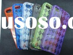 customized case cover for cell phone, lastest TPU case for Phone 4G/4S