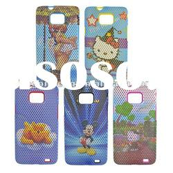 galaxy s2 mesh case with water-transfer printing