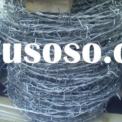 galvanized and hot dipped galvanized barbed wire