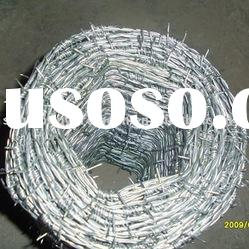 heavily galvanized concertina barbed wire, barbed wire, high tension barbed wire