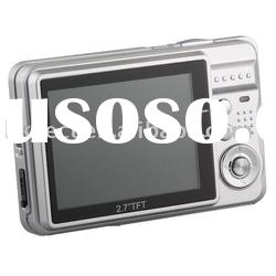 "high quality digital camera with 2.7"" LCD"