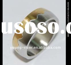 men's stainless steel new design rings jewellery